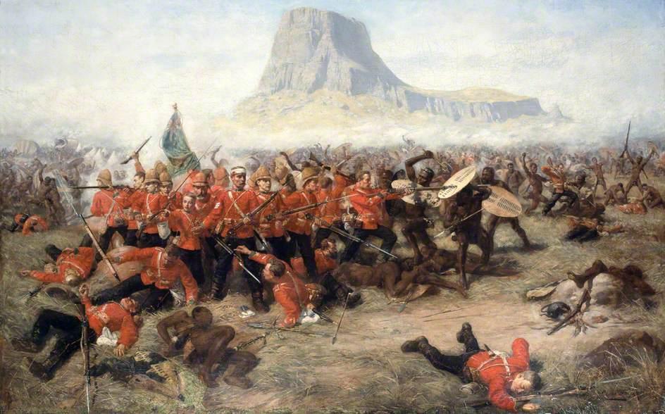 Battle of Isandhlwana, January 1879.