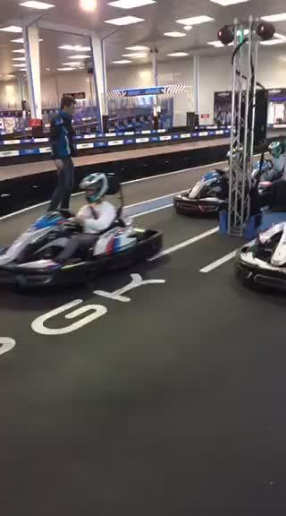 Session karts électrique - 2017
