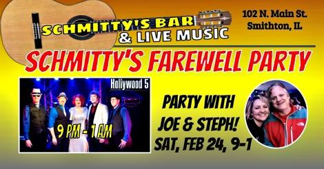 Schmitty's Farewell 2-24-18