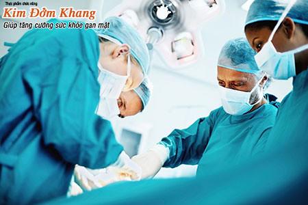 Phẫu thuật sỏi đường mật trong gan