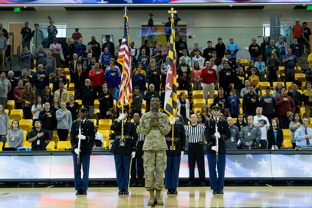 Towson University Military Appreciation Game