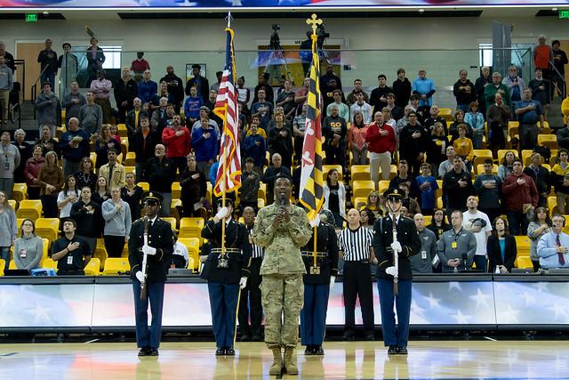 Towson University Military Appreciation Game