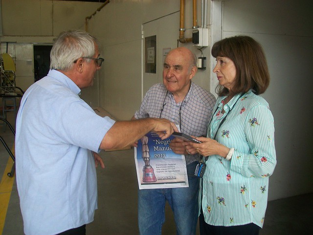 Sapienza entrega Documental a Pirincho Cicaré