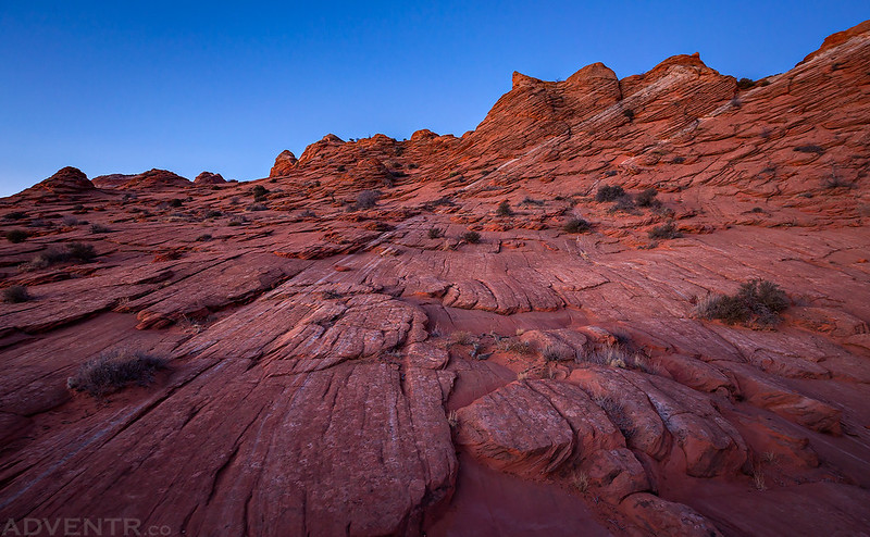 Dawn Sandstone Hiking