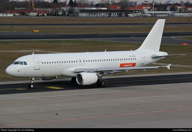 YL-LCU, SmartLynx, EasyJet, Airbus A320-214, cn 1762