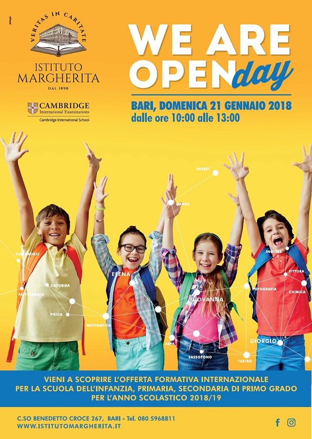 Bari. Open Day Istituto Margherita intero