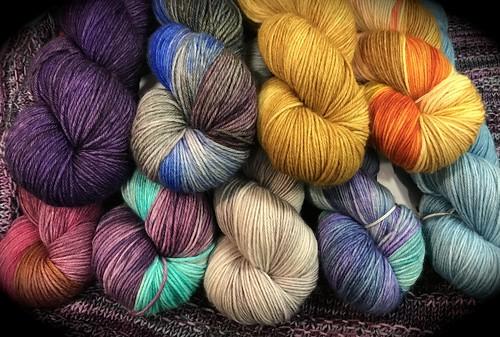 MarigoldJen Hand Dyed Yarns
