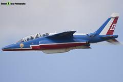 E95 8 F-TERQ - E95 - Patrouille de France - French Air Force - Dassault-Dornier Alpha Jet E - RIAT 2010 Fairford - Steven Gray - IMG_9550