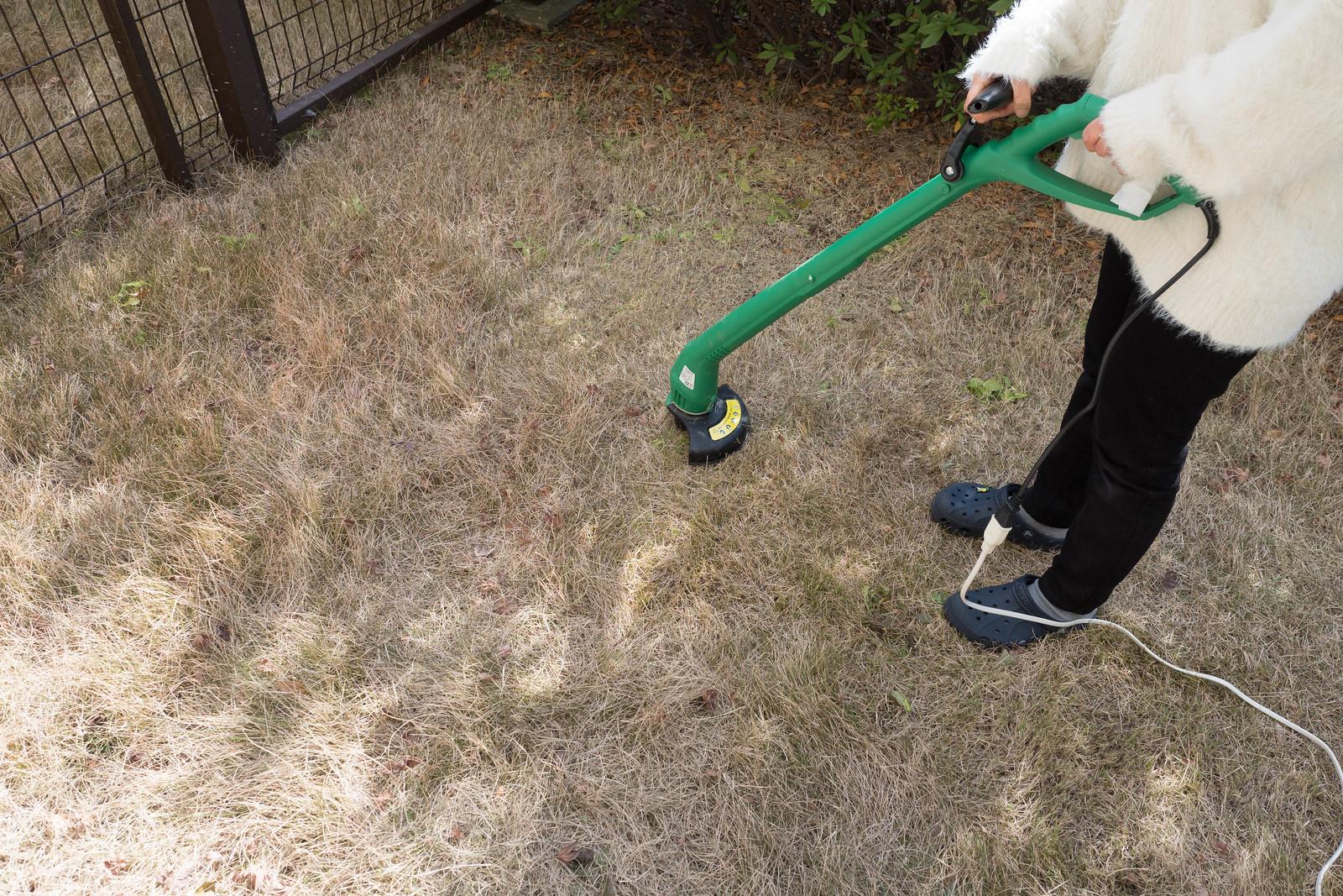 家庭用電動草刈機-10