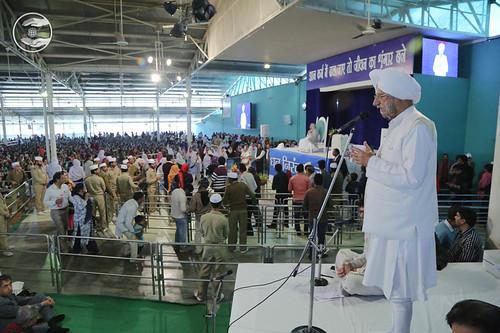 President SNM, Gobind Singh, expresses his views