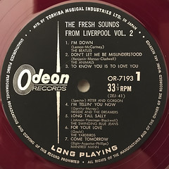 V.A.:THE FRSH SOUNDS FROM LIVERPOOL VOL.2(LABEL SIDE-A)