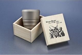 Discovery-G 第10彈 『TSUBAME』x《機動戰士鋼彈UC》 獨角獸鋼彈 噴嘴造型杯(UNICORNGUNDAM バーニアタンブラーチタニウム)