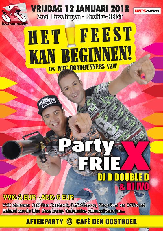 Het Feest Kan Beginnen! met Party Friex (Ravelingen, Heist) 12/01/2018