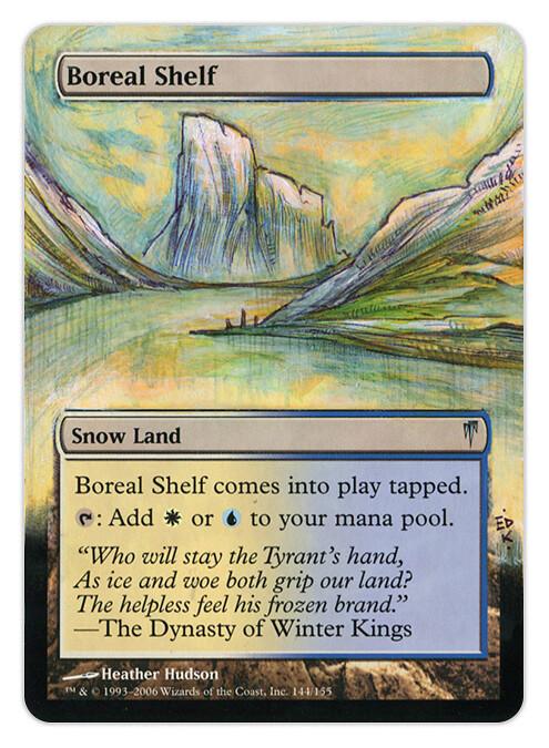 boreal shelf