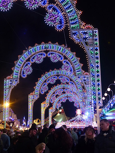 arcs lumineux