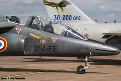 E119 314-FE - E119 - French Air Force - Dassault-Dornier Alpha Jet E - RIAT 2010 Fairford - Steven Gray - IMG_3676