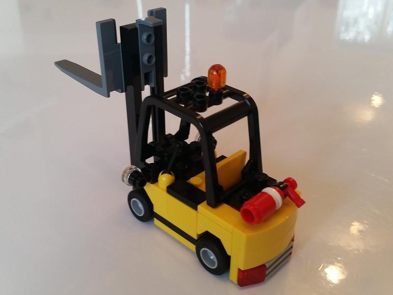 Lego City Forklift Instructions