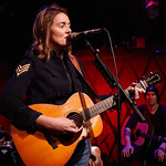 Tue, 05/12/2017 - 6:44am - Brandi Carlile and her band (the twins, plus drums and strings) play for lucky WFUV Marquee Members at Rockwood Music Hall in New York City, 12/5/18. Hosted by Rita Houston. Photo by Gus Philippas/WFUV.