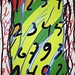 Calcul Hommage à Alechinsky Création numérique par Philippe Brognon