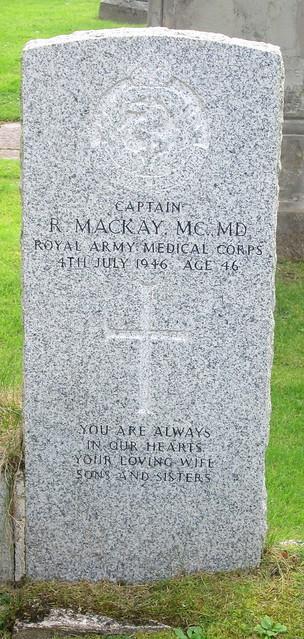 War Grave, Plockton