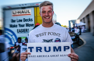 West Point Trump Guy