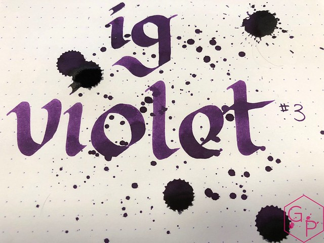 Ink Shot Review KWZI IG Violet #3 @BureauDirect 11