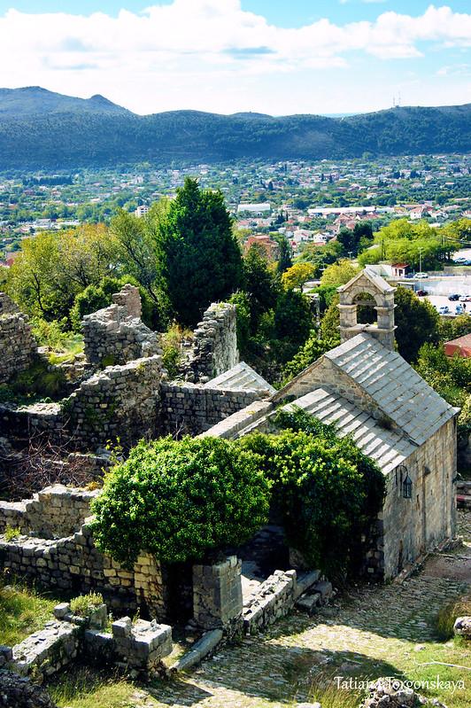 Вид на церковь Св. Леопольда