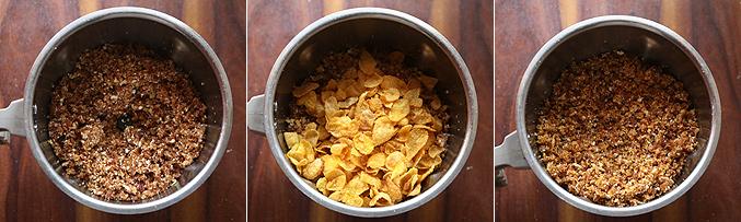 How to make dates cornflakes energy balls recipe - Step2