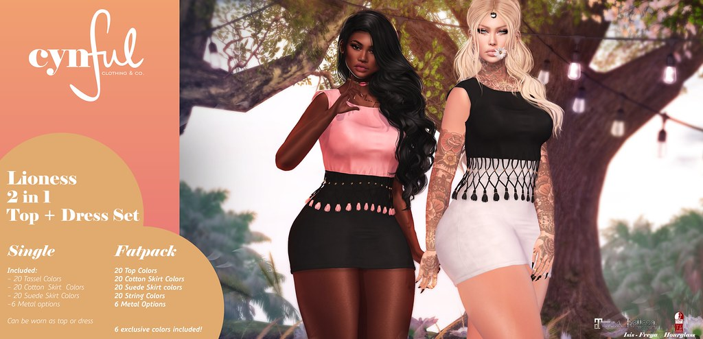 [Cynful] Lioness Top+Dress Ad - TeleportHub.com Live!