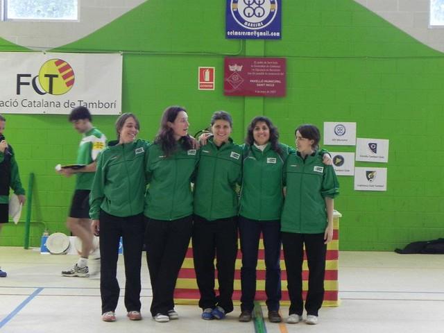 Lliga Catalana de tamborí indoor 2012