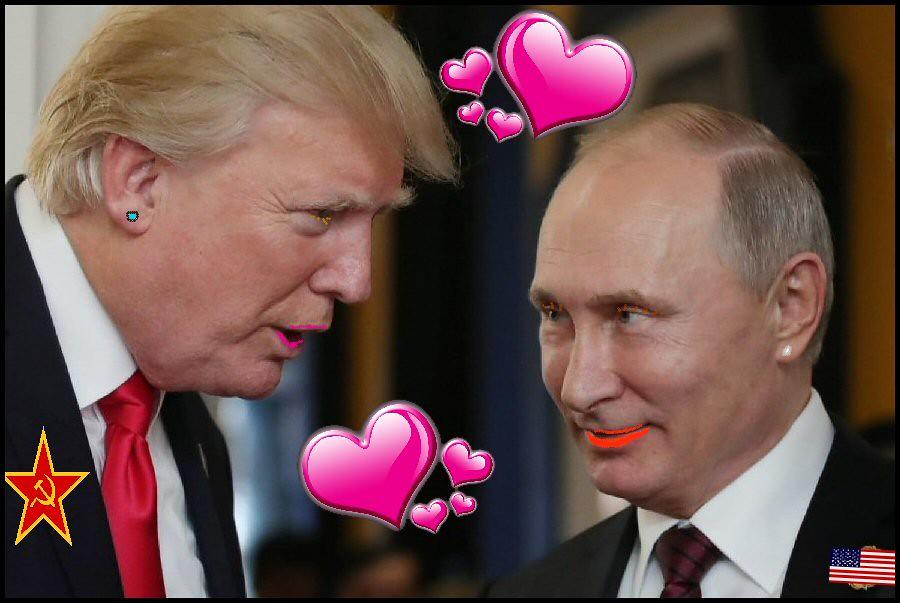 Trump-Putin Love