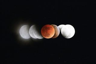 皆既月食 観察記録