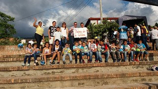 VIII Cabalgata Solidaria Reyes Magos de ACYCOL Piedecuesta 20 de enero de 2018.