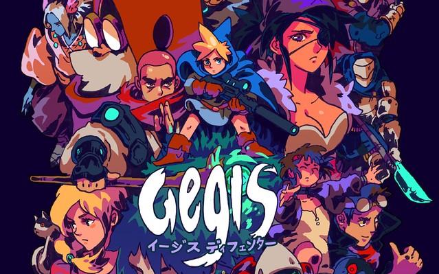 Aegis Defenders - плакат