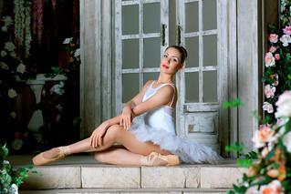 Ballerina - storm of femininity and sexuality