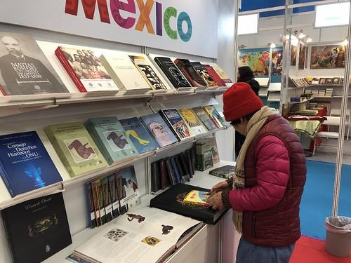 Participación de México en la XXVI exhibición internacional del libro