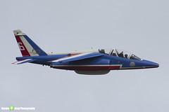 E88 6 F-TELL - E88 - Patrouille de France - French Air Force - Dassault-Dornier Alpha Jet E - Duxford - 130908 - Steven Gray - IMG_9766