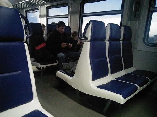 Залізниця здивувала оновленоюелектричкою