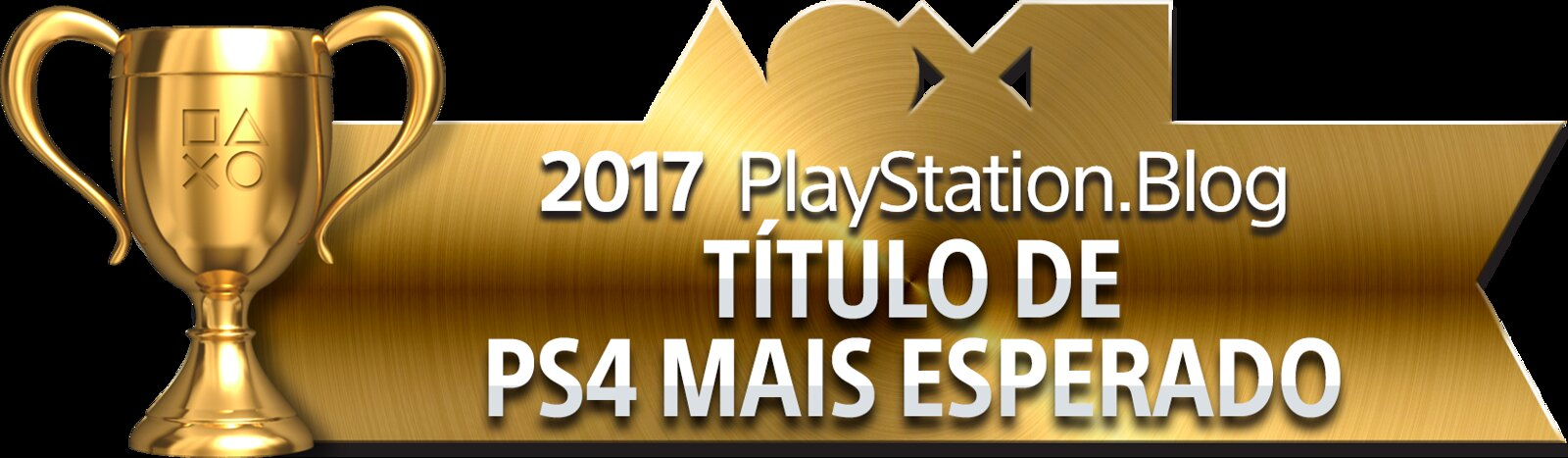 PlayStation Blog Game of the Year 2017 - Most Anticipated PS4 Title (Gold)