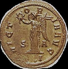 Antoninianus of Usurper Julian of Pannonia reverse