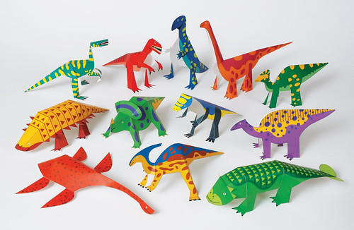 Dinosaurs Paper Craft Kit by Hartiatoys
