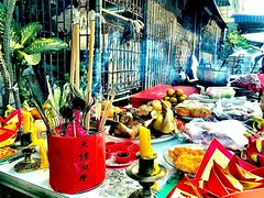 #temple offerings #bangkok #urbanhike