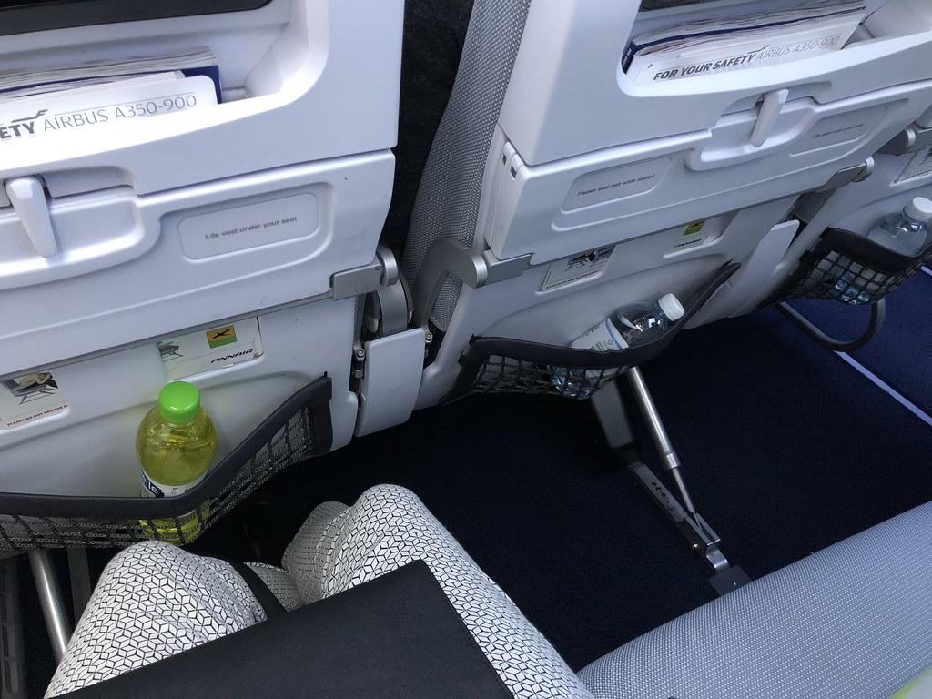 Arvostelussa Finnairin uusi A350 Economy Comfort