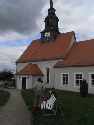 20100825 180 0105 Jakobus Tauscha Kirche Friedhof Pilgerrast ElisabethB