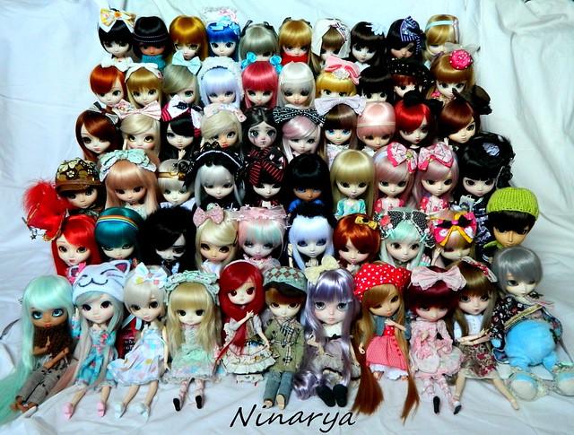 Ninarya's Family (Pullip, Taeyang, Isul, Dal, Blythe, BJD) 40183778071_c169bda7bb_z