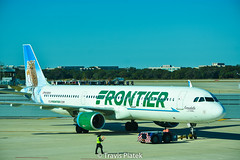 Frontier Airlines –  Airbus A321-211 N705FR @ Tampa International