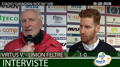 Virtus V.-Union Feltre del 18-02-18