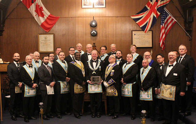 2017 12 07 St. Clair Lodge Installation