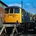 81 001, Crewe Works, 12-08-84