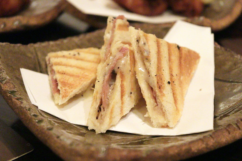 Toasted Parma Ham and Black Truffle Sandwich